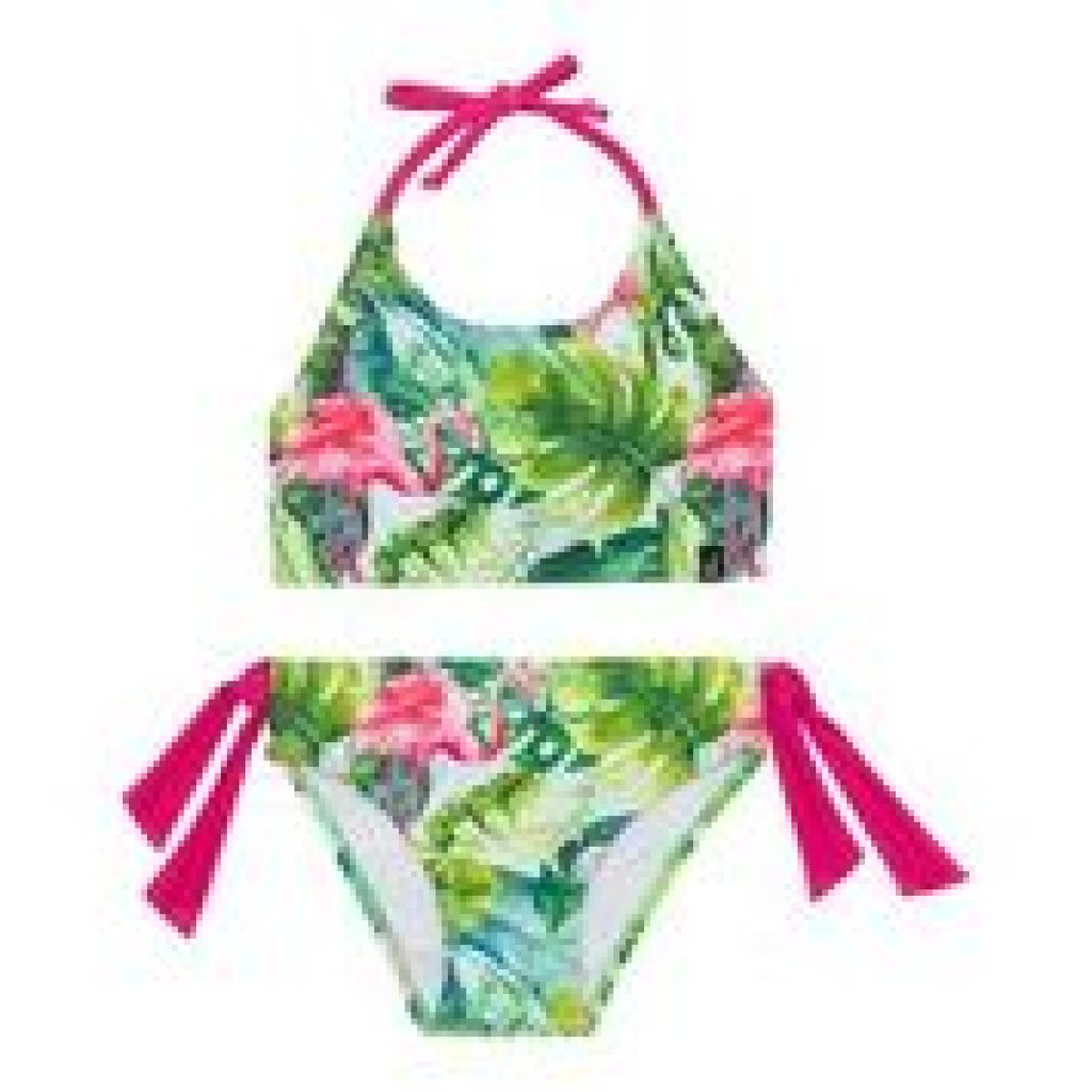 Maillot 2 piece Flamingo