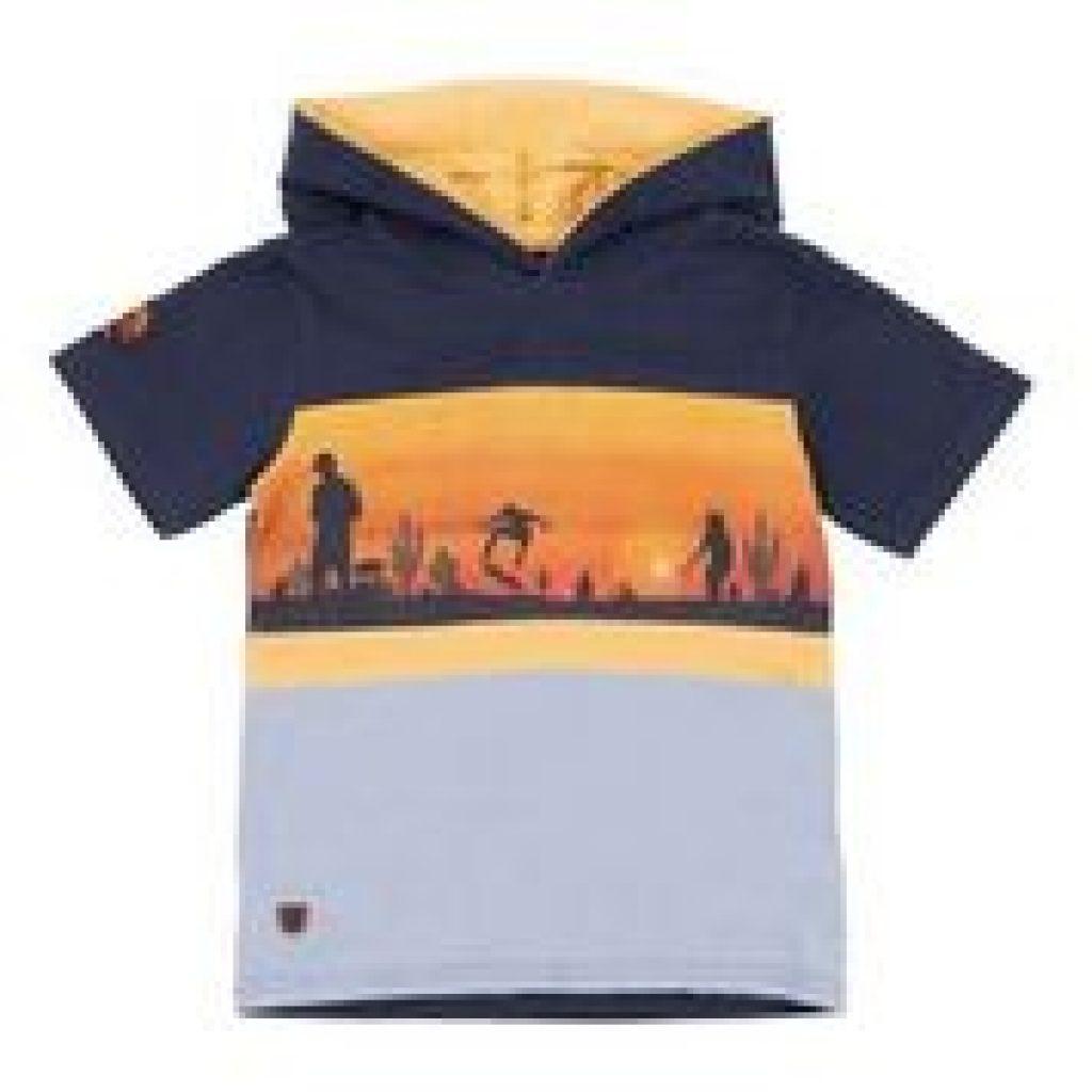 T-shirt a capuchon