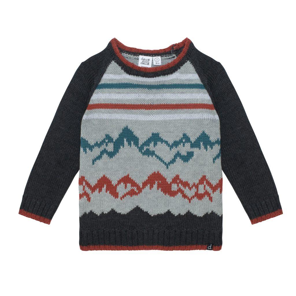 haut en tricot jacquard